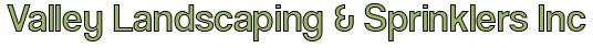 Valley Landscaping & Sprinklers Inc, Sheridan WY Logo